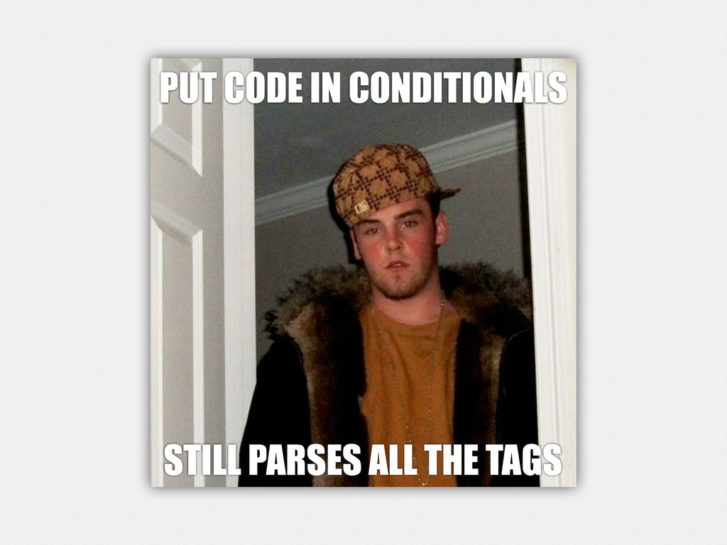 PUT CODE IN CONDITIONALS STILL PARSES ALL THE T...