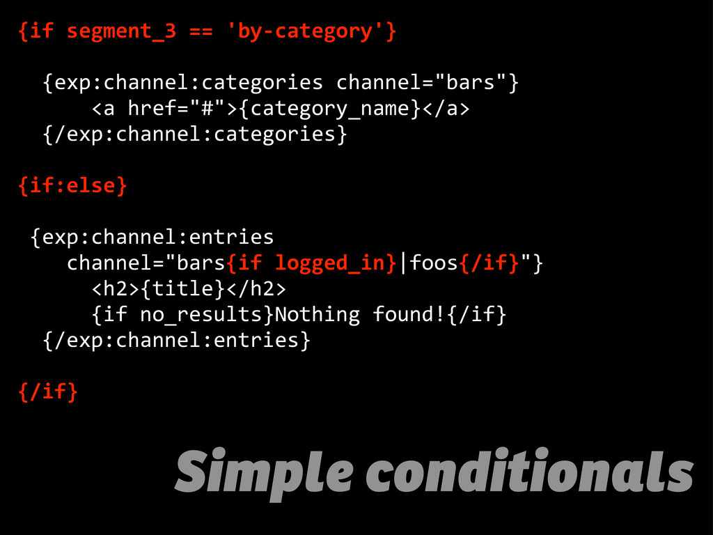 Simple conditionals {if  segment_3  ==  'by-­‐c...