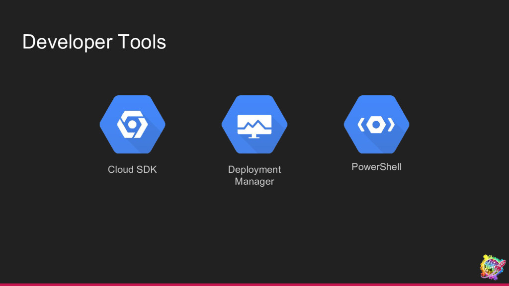 Developer Tools Deployment Manager PowerShell C...
