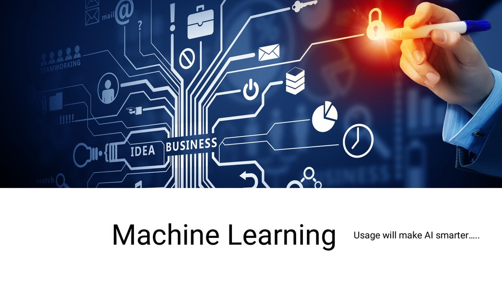 Machine Learning Usage will make AI smarter…..