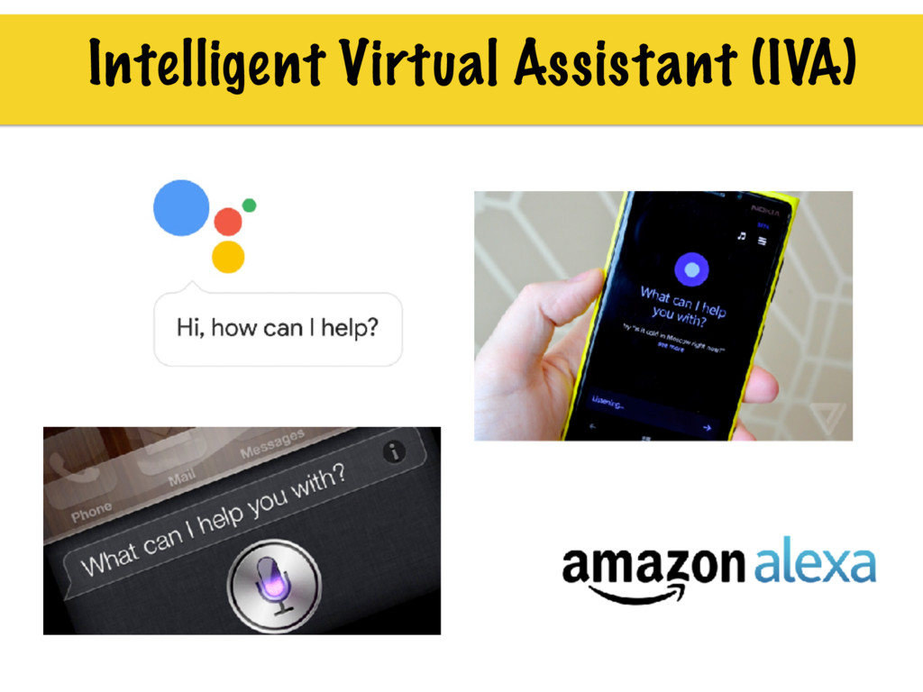 Intelligent Virtual Assistant (IVA)