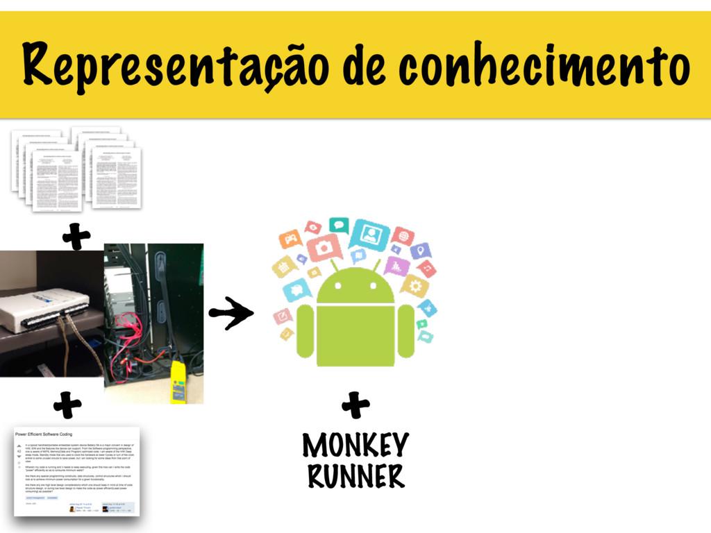 Representação de conhecimento + + MONKEY RUNNER...