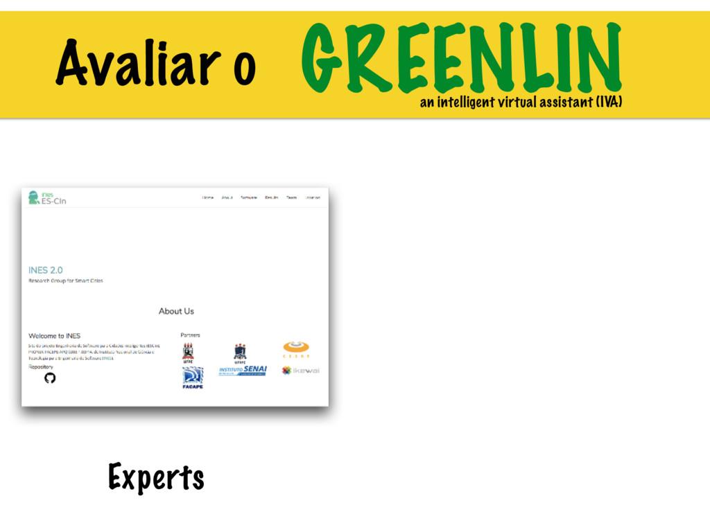 GREENLIN an intelligent virtual assistant (IVA)...
