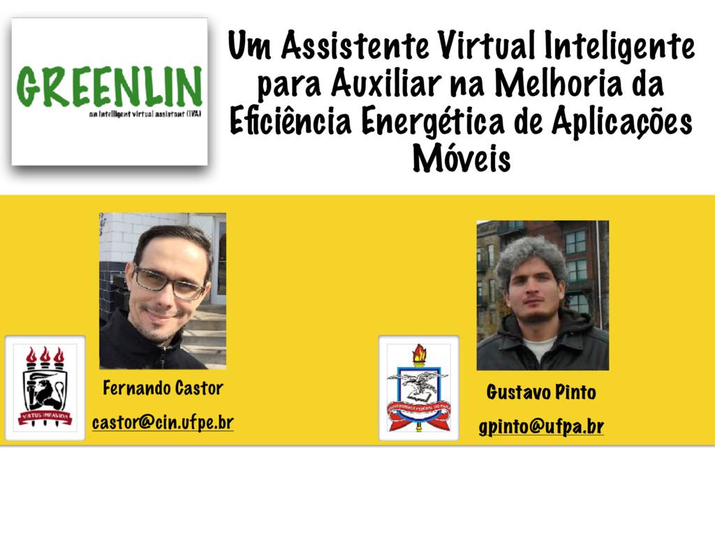 Um Assistente Virtual Inteligente para Auxiliar...