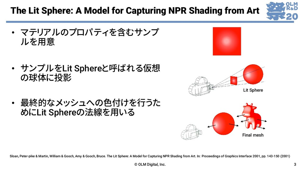 The Lit Sphere: A Model for Capturing NPR Shadi...