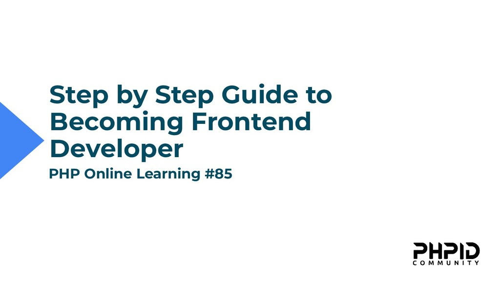 Step by Step Guide to Becoming Frontend Develop...