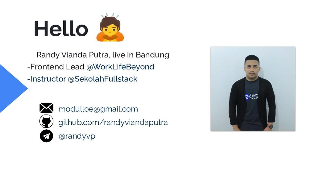 Randy Vianda Putra, live in Bandung -Frontend L...