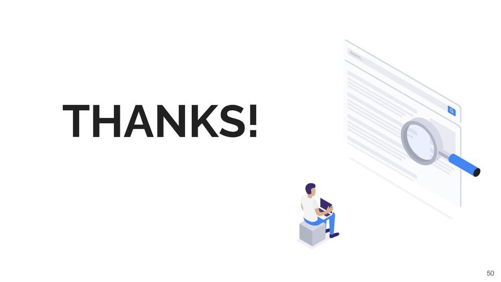 50 THANKS!