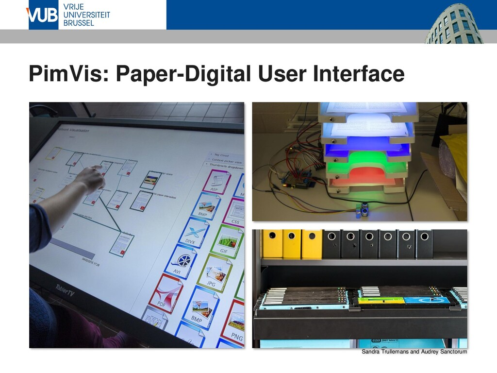 PimVis: Paper-Digital User Interface Sandra Tru...