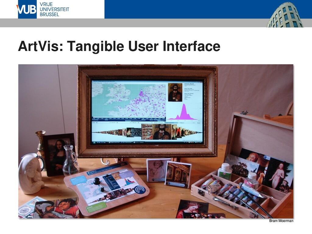 ArtVis: Tangible User Interface Bram Moerman