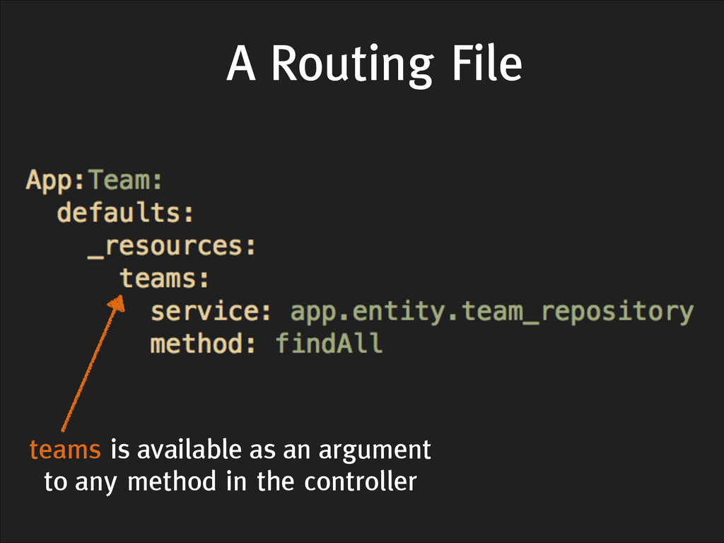 A Routing File teams is available as an argumen...