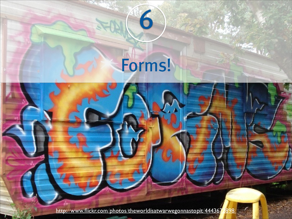 6 Forms! http://www.flickr.com/photos/theworldis...