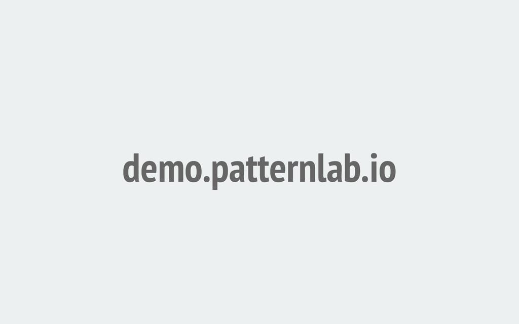 demo.patternlab.io