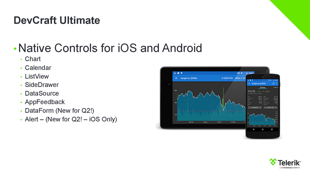 DevCraft Ultimate •Native Controls for iOS and...