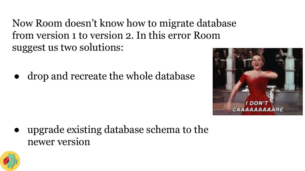 Now Room doesn't know how to migrate database f...