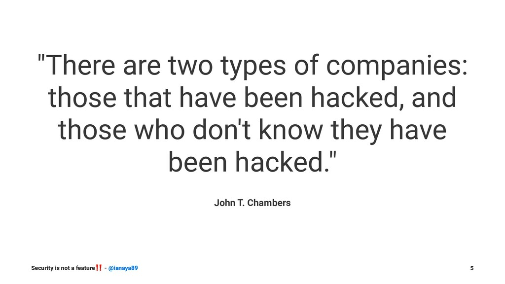 """There are two types of companies: those that h..."