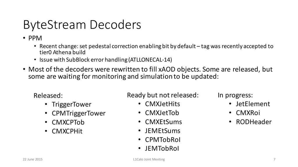 ByteStream Decoders • PPM • Recent change: s...