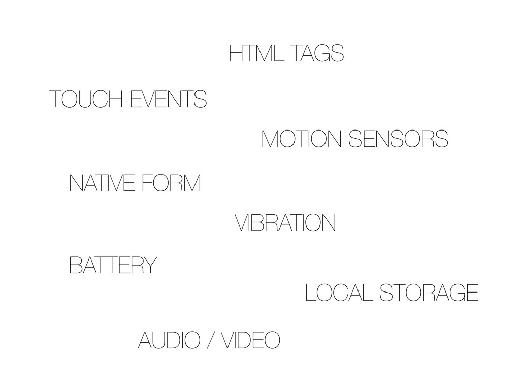 TOUCH EVENTS