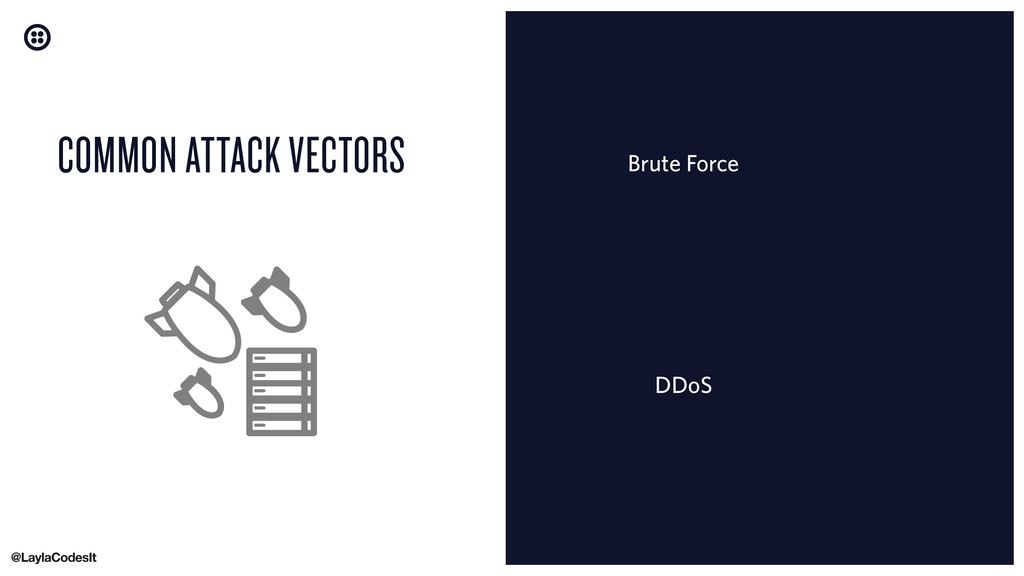Brute Force COMMON ATTACK VECTORS DDoS