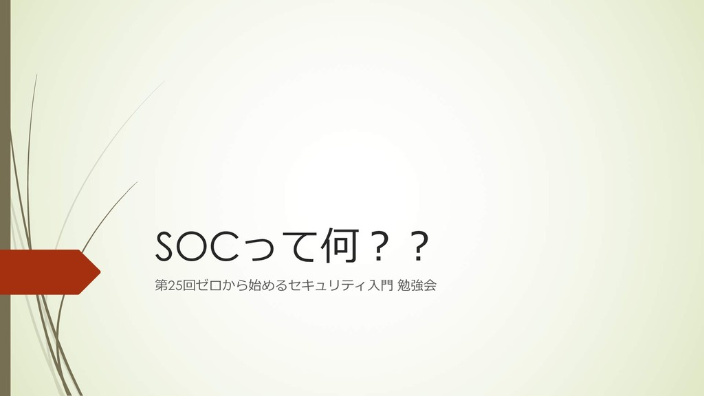 SOC 25