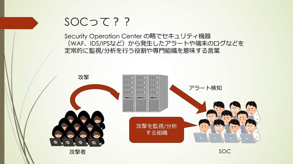 SOC <8 -. Security Operation Center >...