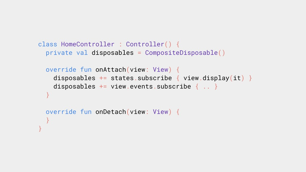 class HomeController : Controller() { private v...