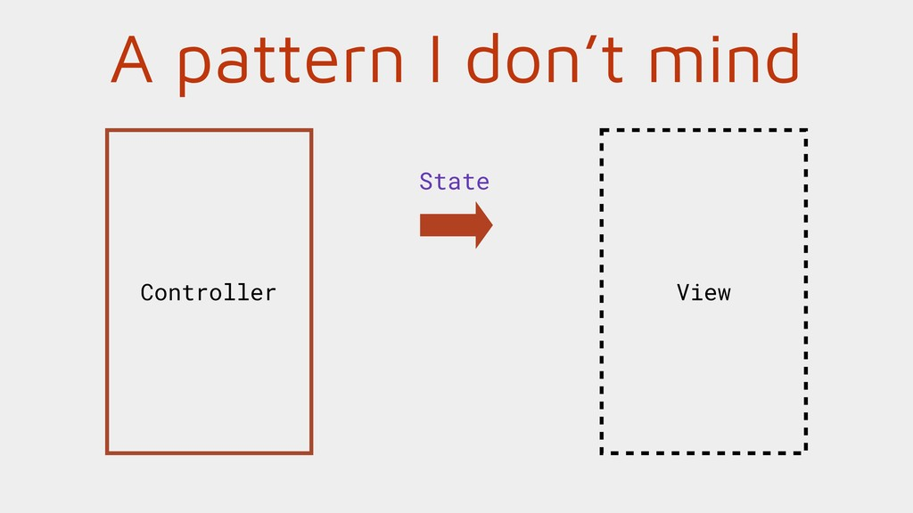 A pattern I don't mind View Controller State