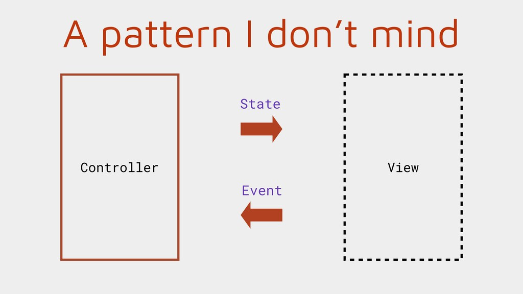 A pattern I don't mind View Controller State Ev...