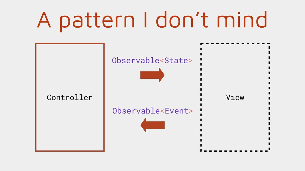 A pattern I don't mind View Controller Observab...