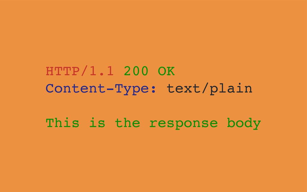 HTTP/1.1 200 OK Content-Type: text/plain This i...