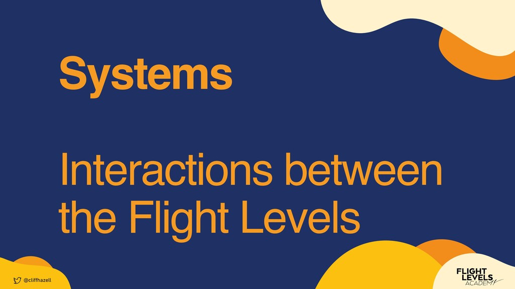 System s     Interactions between the Flight Le...
