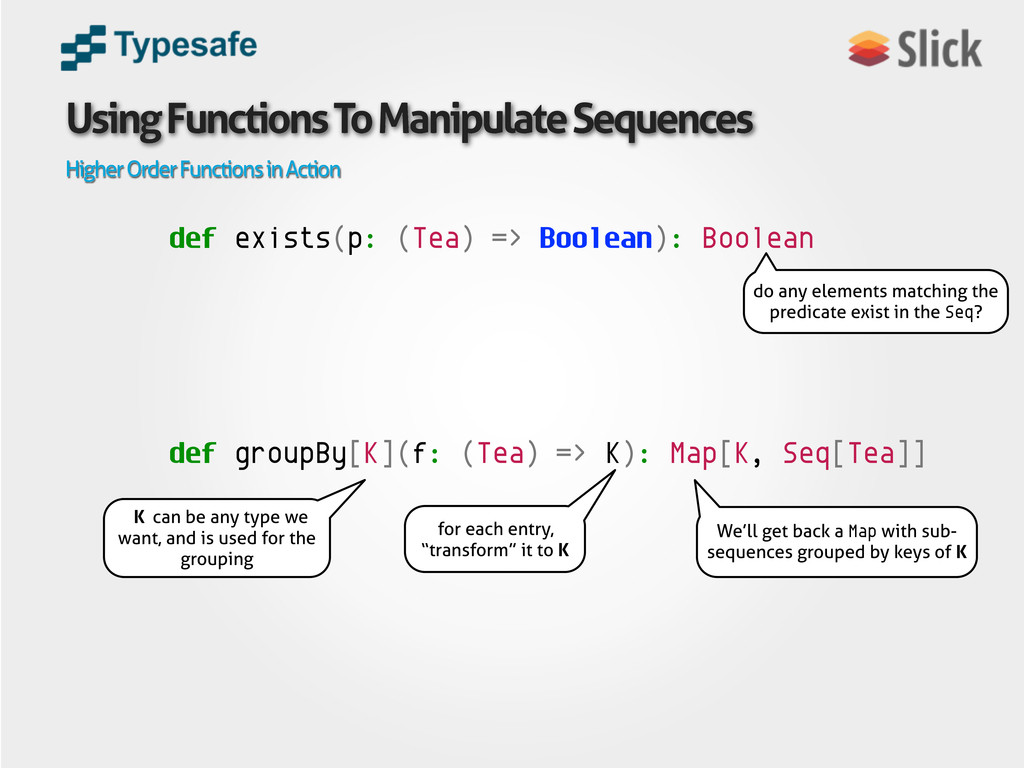 Using Functions To Manipulate Sequences Higher ...