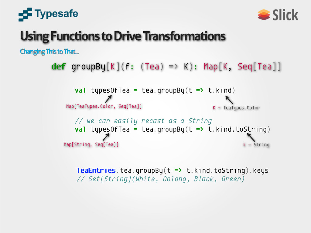 Using Functions to Drive Transformations Changi...