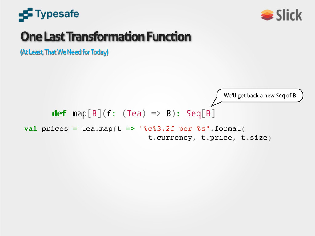 One Last Transformation Function (At Least, Tha...