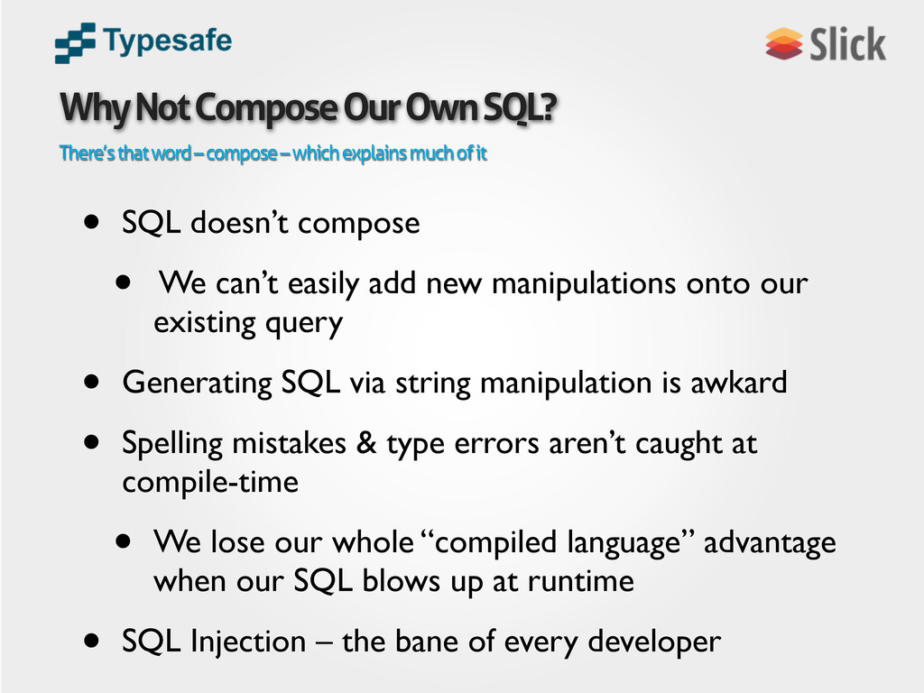 There's that word – compose – which explains mu...