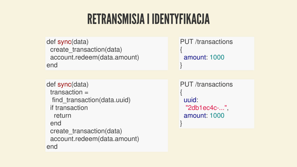 RETRANSMISJA I IDENTYFIKACJA def sync(data) cre...