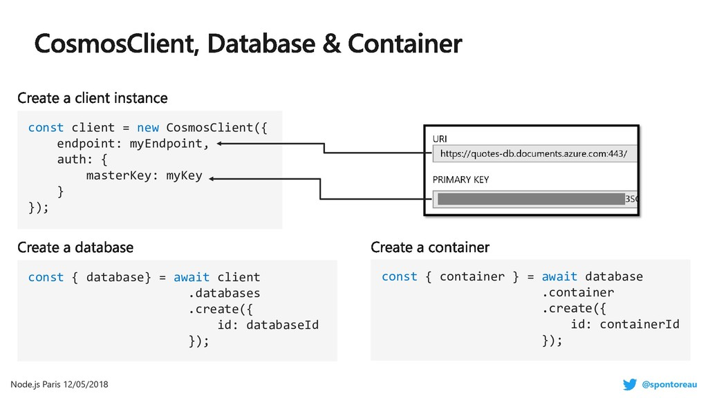 const { database} = await client .databases .cr...