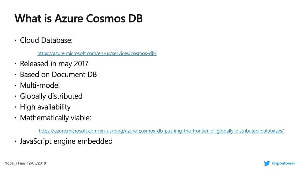 https://azure.microsoft.com/en-us/services/cosm...