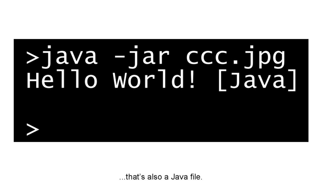 ...that's also a Java file.