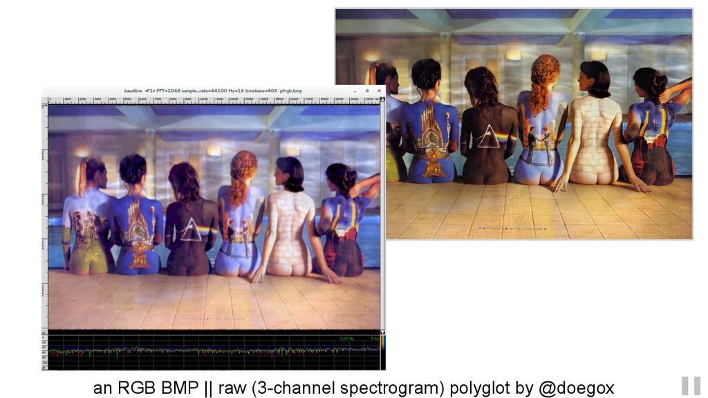 an RGB BMP    raw (3-channel spectrogram) polyg...