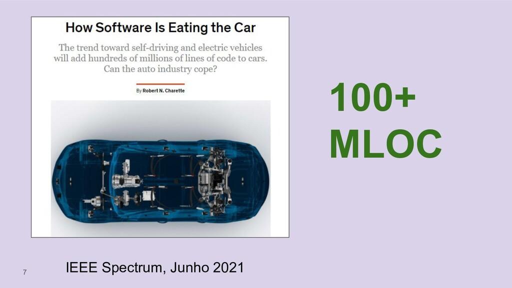 7 100+ MLOC IEEE Spectrum, Junho 2021