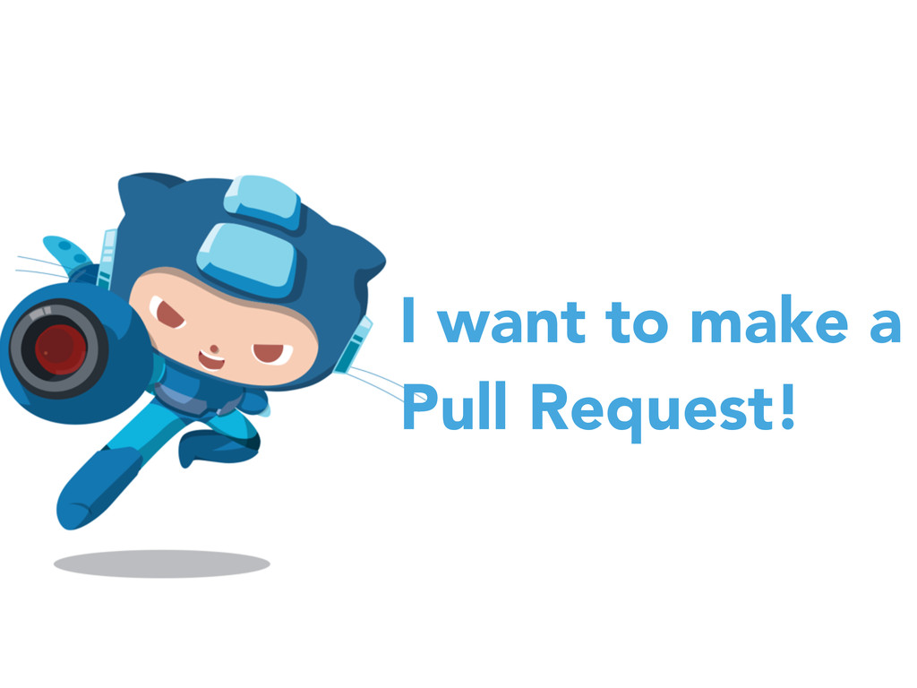 I want to make a Pull Request!