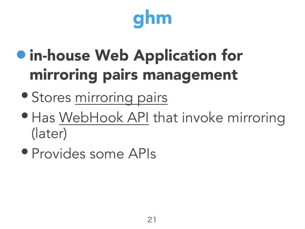 ghm •in-house Web Application for mirroring pai...