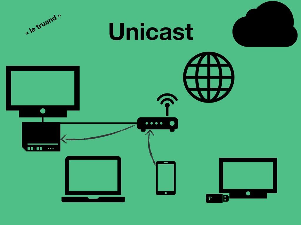 Unicast « le truand »
