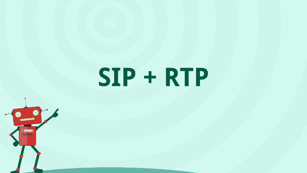 SIP + RTP