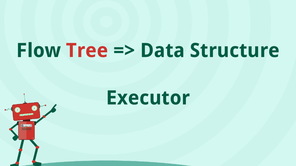 Flow Tree => Data Structure Executor