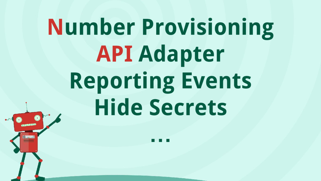 Number Provisioning API Adapter Reporting Event...