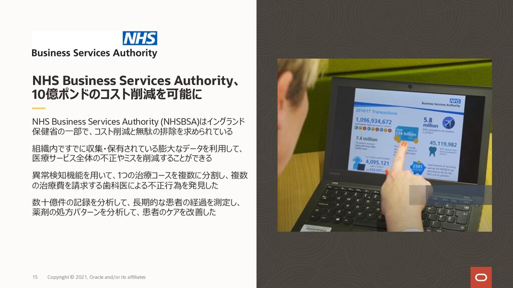 NHS Business Services Authority (NHSBSA)はイングランド...