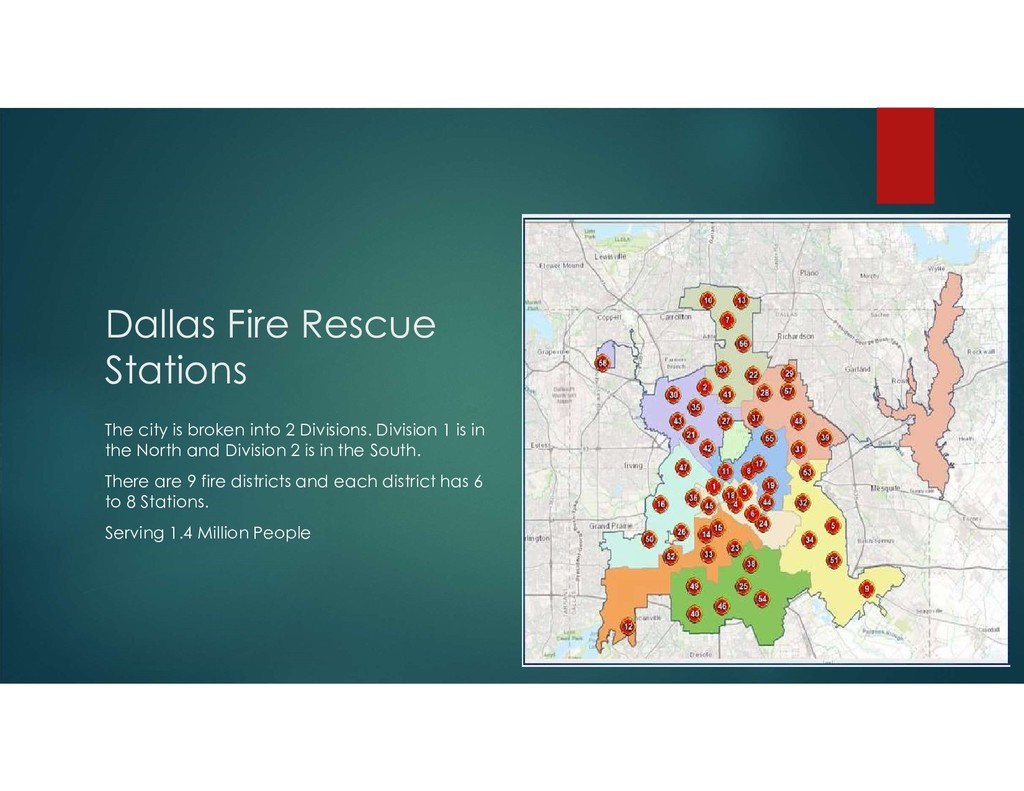 Dallas Fire Rescue Stations The city is broken ...