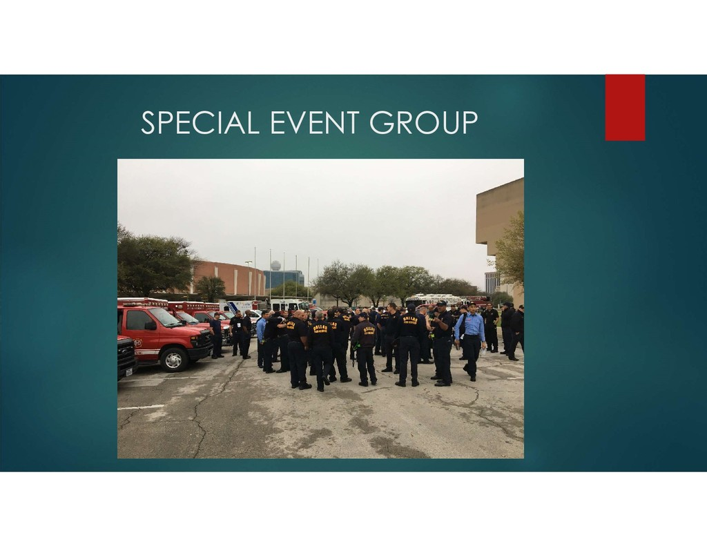 SPECIAL EVENT GROUP